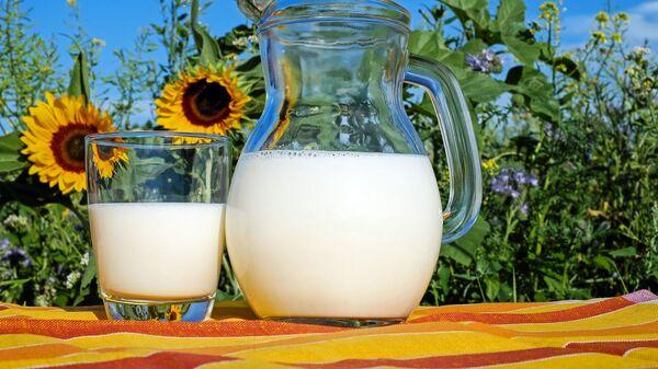 Mléko. Ilustrační foto - Sputnik Česká republika