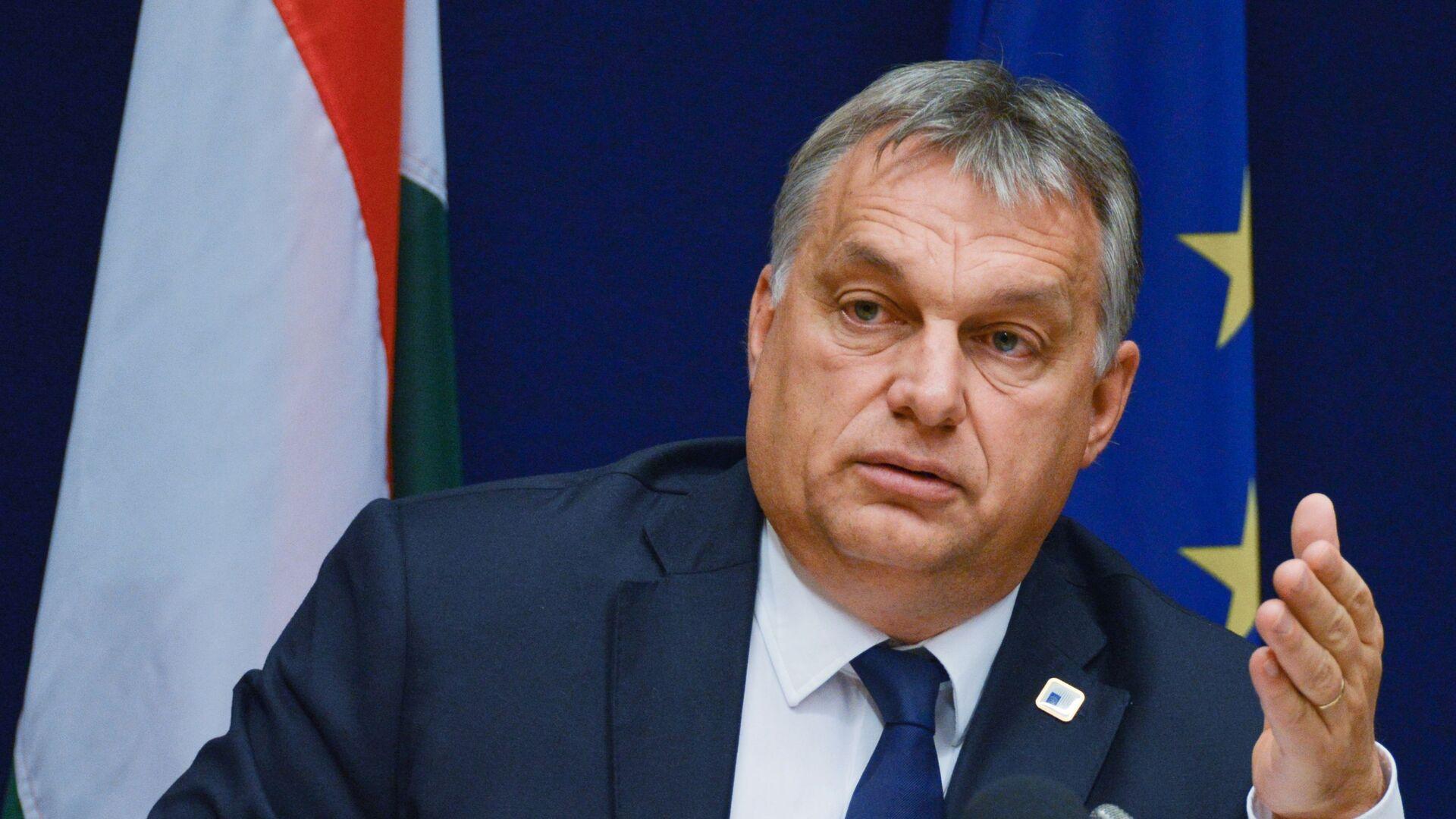 Maďarský premiér Viktor Orbán - Sputnik Česká republika, 1920, 19.06.2021