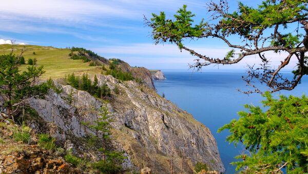 Strážce Bajkalu. Kouzelné výhledy na ostrov Olchon - Sputnik Česká republika