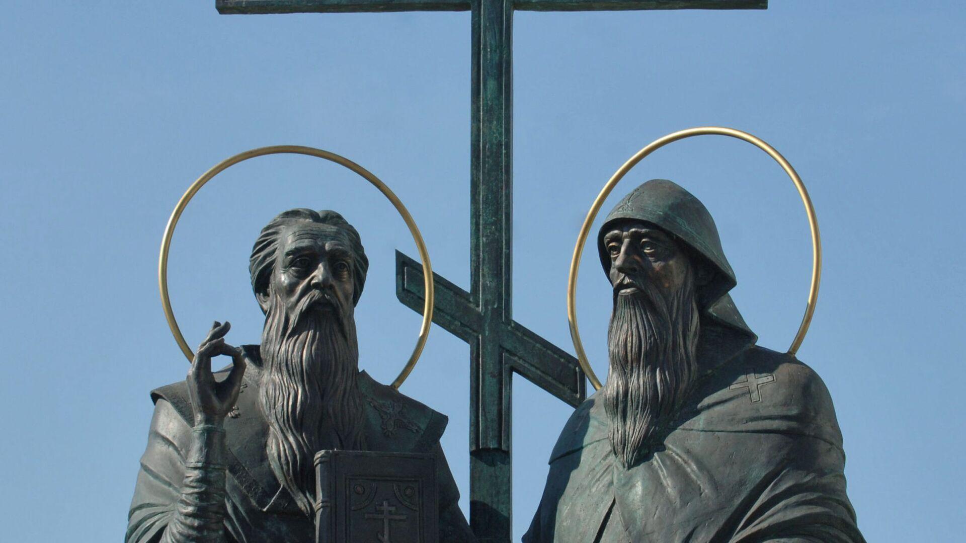 Cyril a Metoděj. Pomník v ruské Kolomně - Sputnik Česká republika, 1920, 05.07.2021