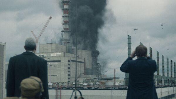Snímek ze seriálu Černobyl - Sputnik Česká republika