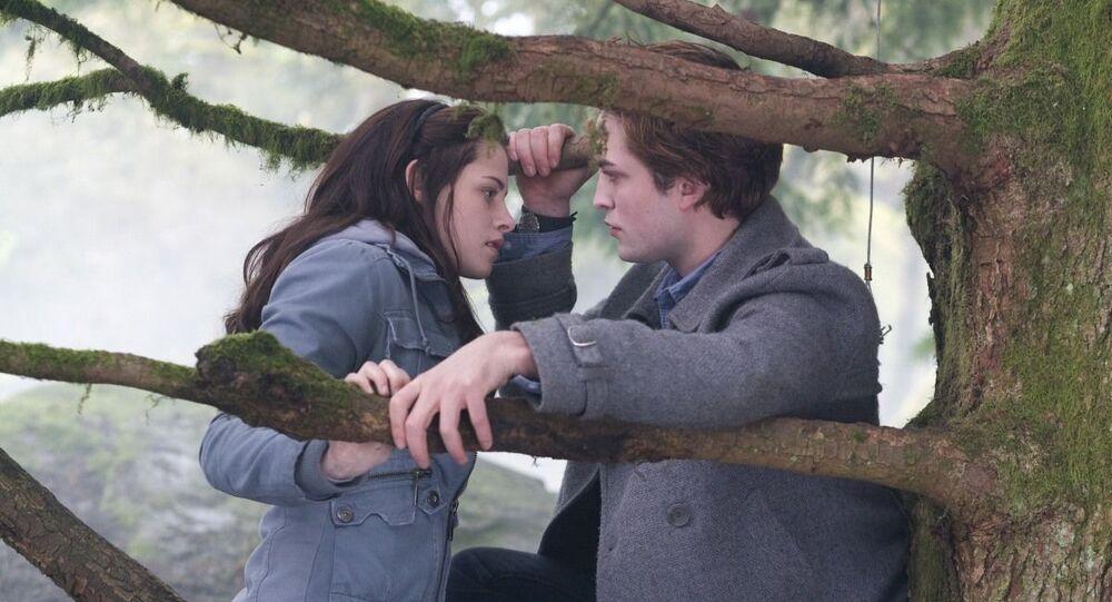 Záběr z filmu Stmívání