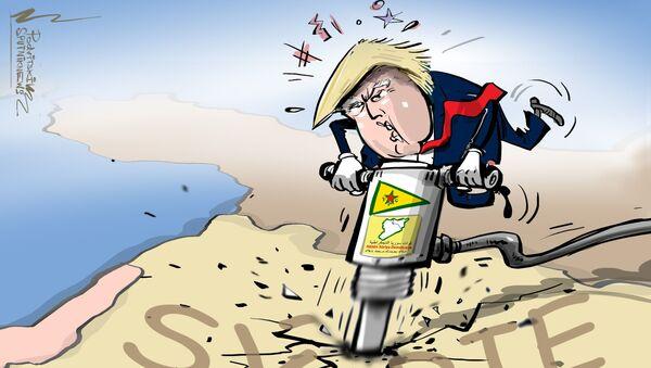 USA využívají Kurdy k rozdělení Sýrie - Sputnik Česká republika