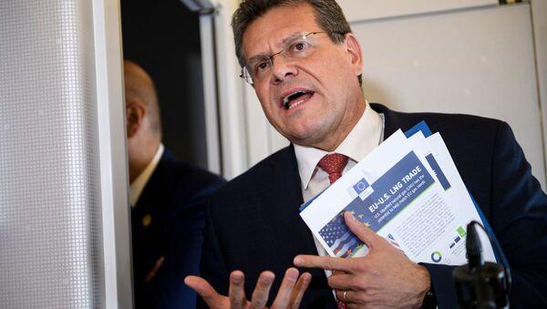 Slovenský diplomat a evropský komisař Maroš Šefčovič - Sputnik Česká republika