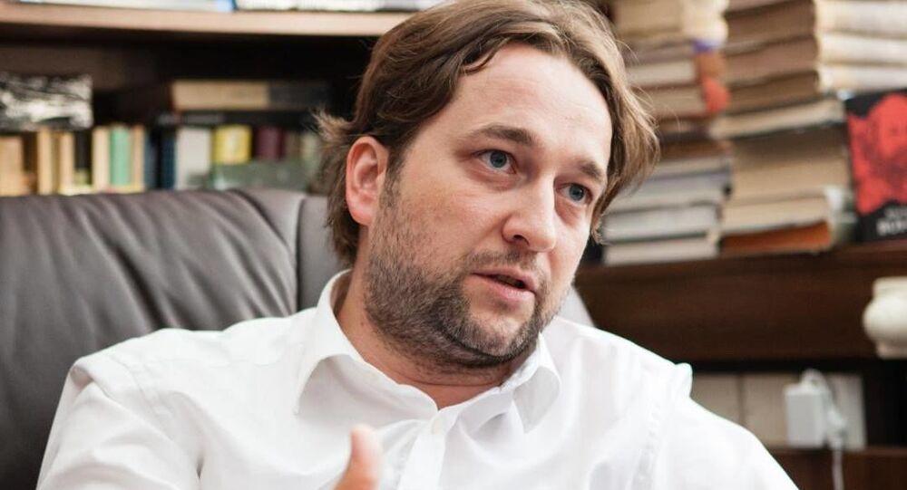 Poslanec NR SR Ľuboš Blaha