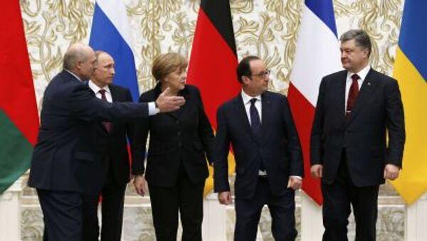 Normandská čtyřka - Sputnik Česká republika