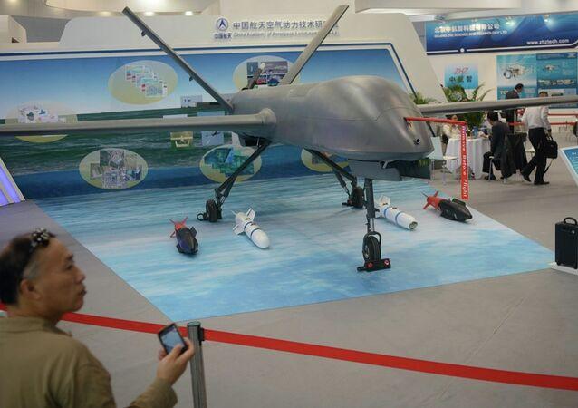 Čínský bezpilotní přístroj  CH-4