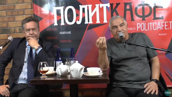 Politkafe - Sputnik Česká republika