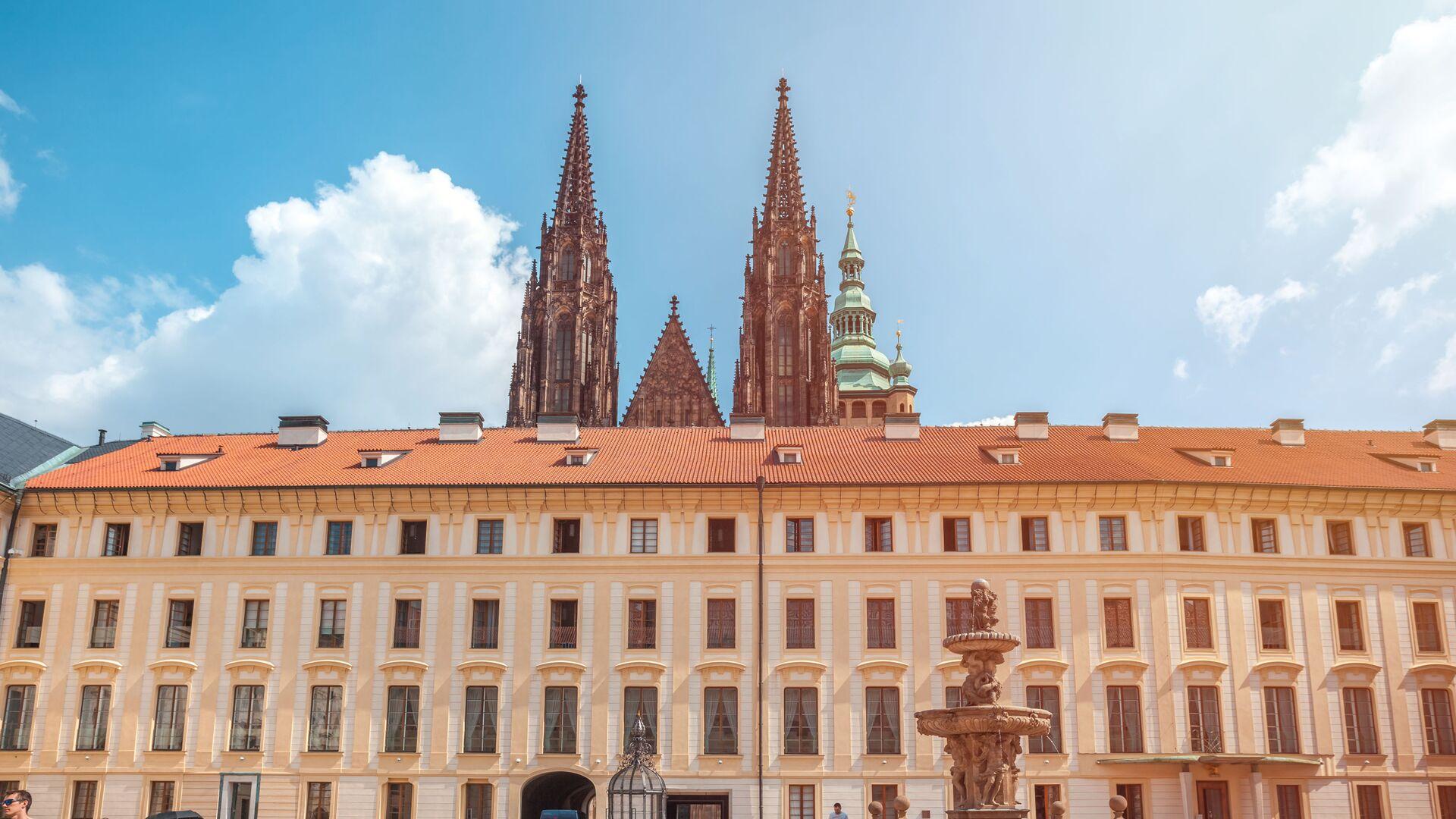 Pražský hrad a katedrála svatého Víta v Praze - Sputnik Česká republika, 1920, 03.02.2021