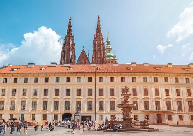 Pražský hrad a katedrála svatého Víta v Praze