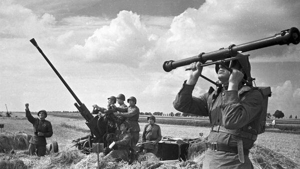 Sovětští vojáci v oblasti Kurského oblouku - Sputnik Česká republika