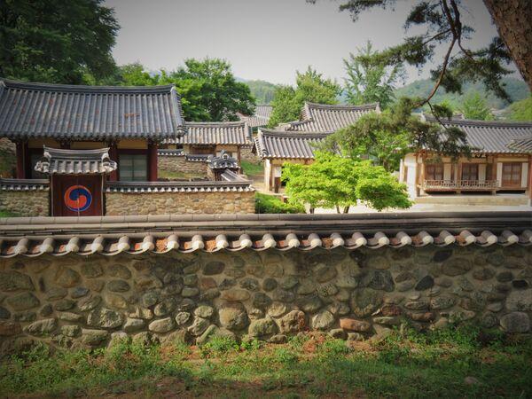 Sosu Seowon, nejstarší soukromá neokonfuciánská akademie v Jižní Koreji, vytvořená v době vládnutí dynastie Čoson - Sputnik Česká republika