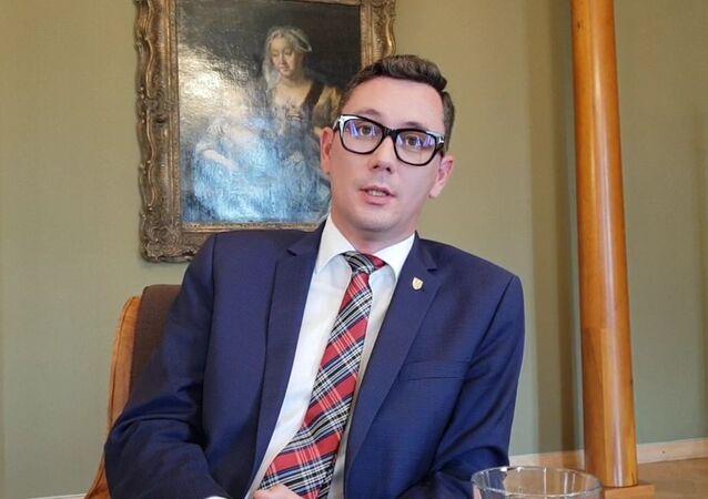 Tiskový mluvčí prezidenta České republiky Jiří Ovčáček