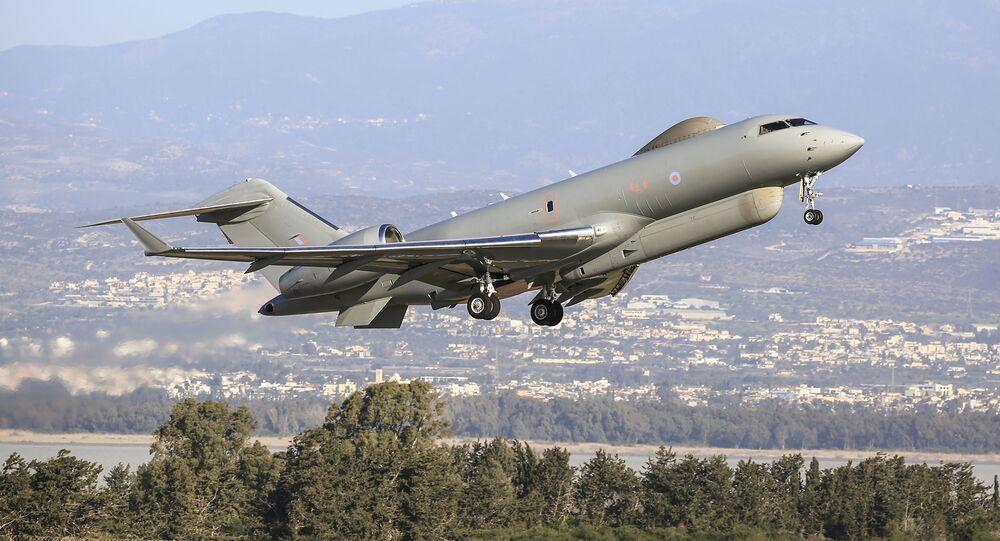 Letoun radioelektronického průzkumu Královského letectva Bombardier Global Express Sentinel R. 1