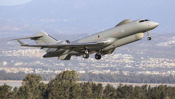 Letoun radioelektronického průzkumu Královského letectva Bombardier Global Express Sentinel R. 1 - Sputnik Česká republika