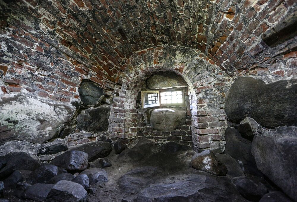 Cela ve věznici Soloveckého kláštera