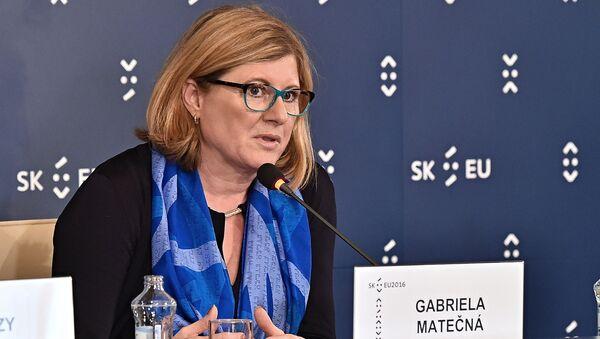 ministryně zemědělství Slovenska Gabriela Matečná - Sputnik Česká republika
