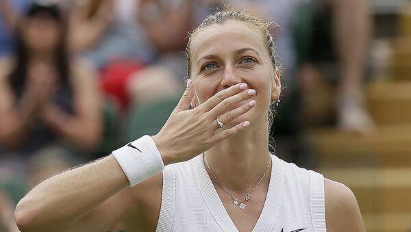Česká tenistka Petra Kvitová - Sputnik Česká republika
