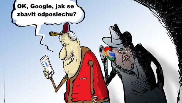 OK, Google, jak se zbavit odposlechu?  - Sputnik Česká republika