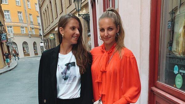 Kristýna a Karolína Plíškovy - Sputnik Česká republika