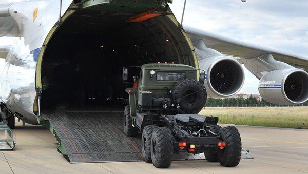 Dodávka protiletadlového raketového systému S-400 do Turecka - Sputnik Česká republika