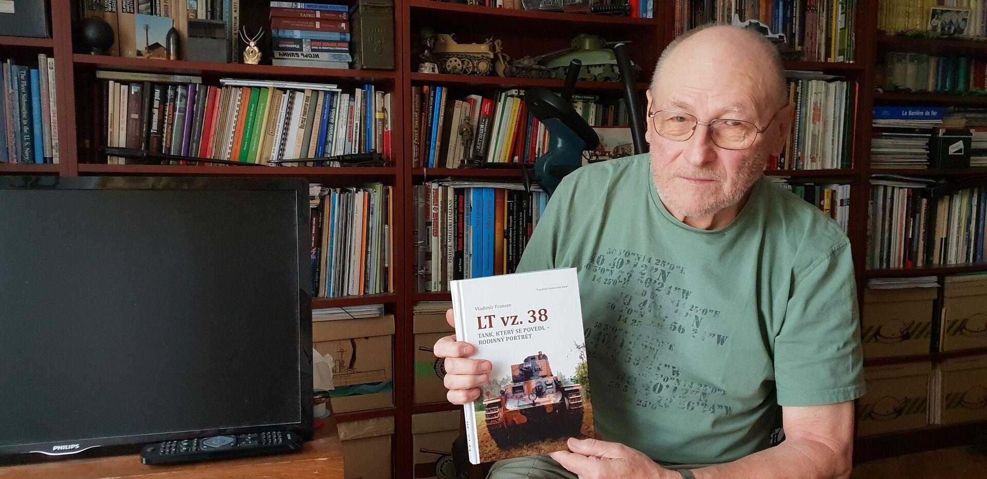 Vladimír Francev, spisovatel, vydal 20 knih o československých i ruských tancích - Sputnik Česká republika, 1920, 20.04.2021