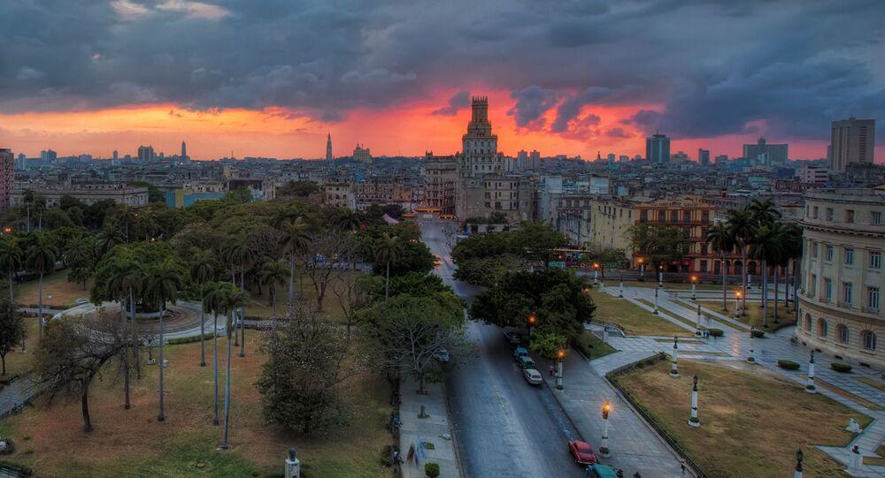 Pohled na Havanu