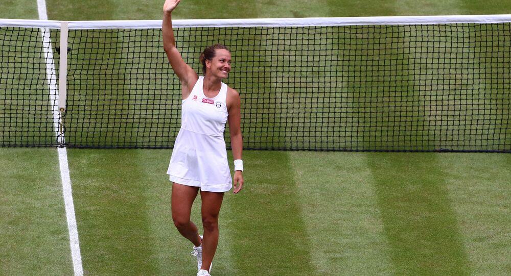 Tenistka Strýcová zabodovala: Vyhrála a stane se světovou jedničkou v deblovém žebříčku WTA