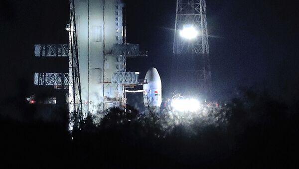 Druhá měsíční průzkumná mise Indie Čandraján-2 - Sputnik Česká republika