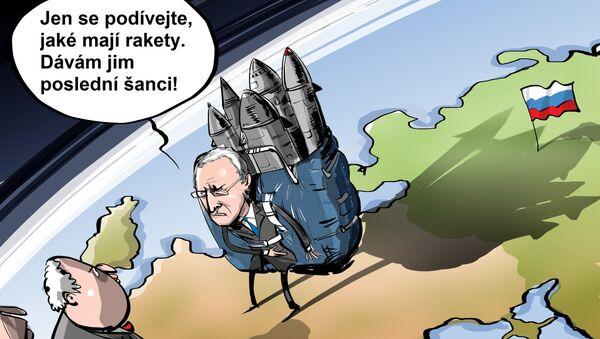 Jen se podívejte, jaké mají rakety. Dávám jim poslední šanci! - Sputnik Česká republika