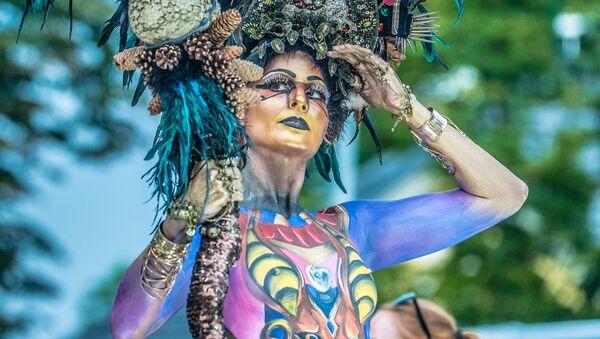 Umění překvapení: Mezinárodní festival Body Art v Rakousku 2019 - Sputnik Česká republika