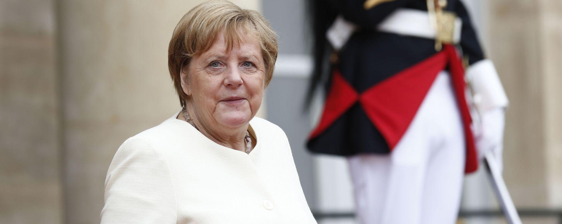 Německá kancléřka Angela Merkelová - Sputnik Česká republika, 1920, 11.06.2021