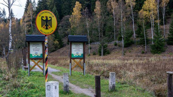 Česko-německá hranice - Sputnik Česká republika