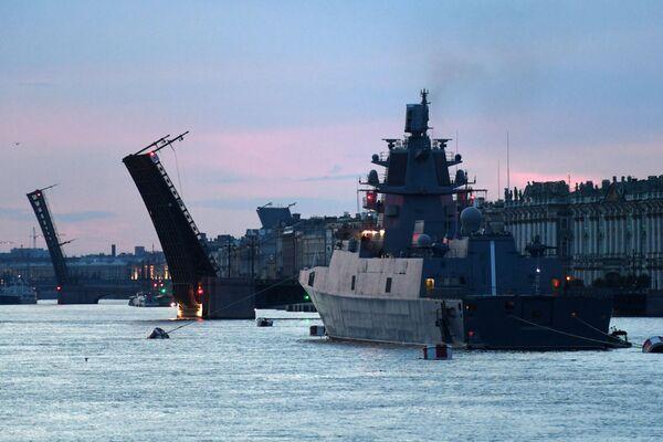 Fregata Admirál loďstva Kasatonov - Sputnik Česká republika