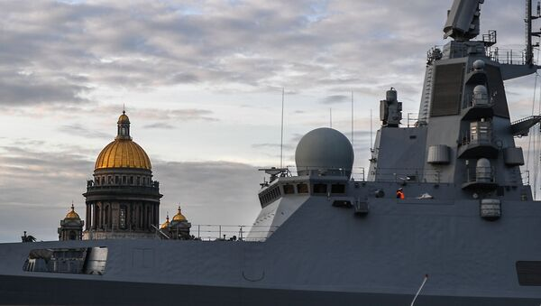 Fregata Admirál Kasatonov - Sputnik Česká republika
