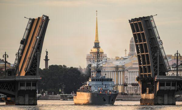 Loď Alexandr Obuchov projektu 12700 - Sputnik Česká republika