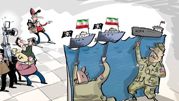 Američané vždy poukazují na účast Íránu - Sputnik Česká republika