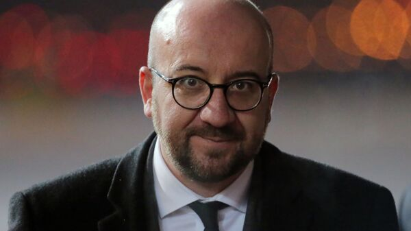 Zvolený předseda Evropské rady Charles Michel - Sputnik Česká republika