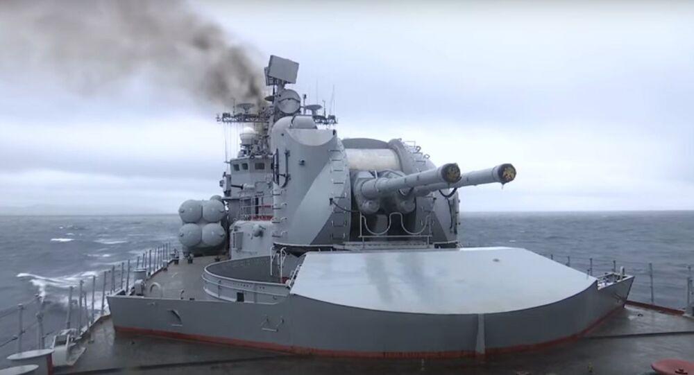 Ministerstvo obrany RF zveřejnilo video odpálení raket Moskit (Mosquito) v Japonském moři