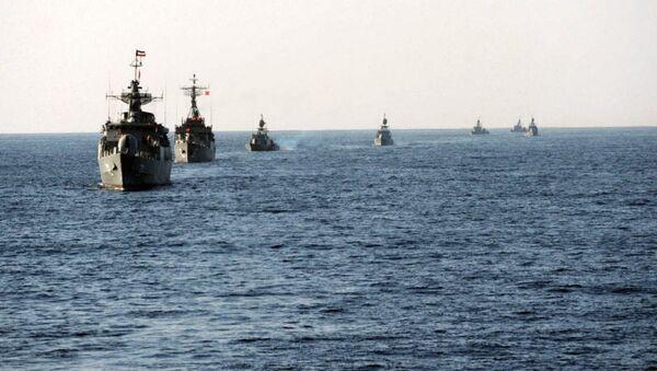Cvičení íránského námořnictva Velayat-90. Ilustrační foto - Sputnik Česká republika