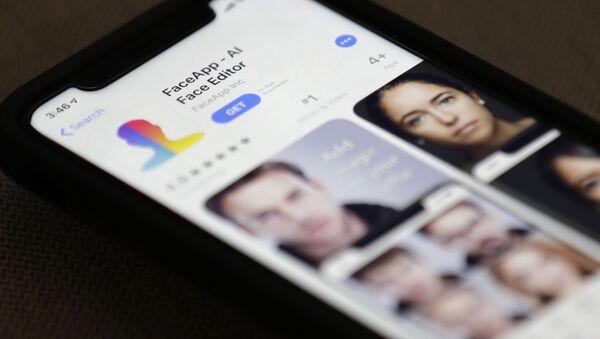 Aplikace FaceApp - Sputnik Česká republika