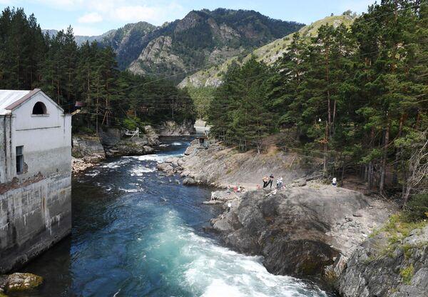 Park extrémní zábavy na Čemalské vodní elektrárně v Čemalské oblasti Altajské republiky, Rusko - Sputnik Česká republika