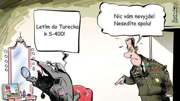 Turecko bylo vyloučeno z projektu F-35 - Sputnik Česká republika