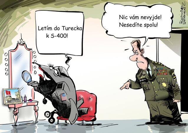 Turecko bylo vyloučeno z projektu F-35