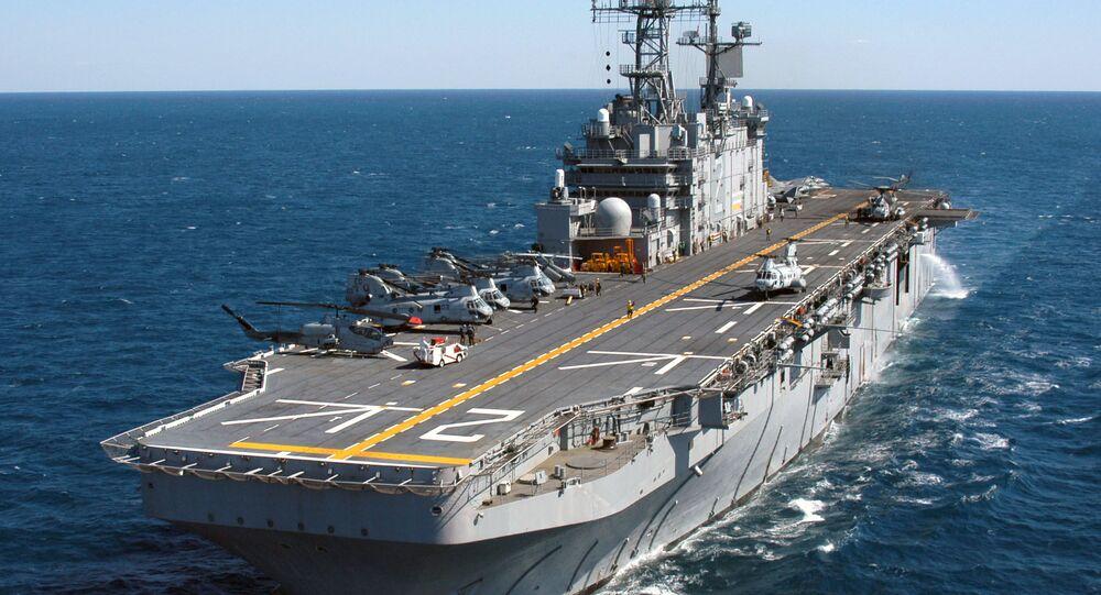 Americká vojenská loď USS Saipan (LHA 2)