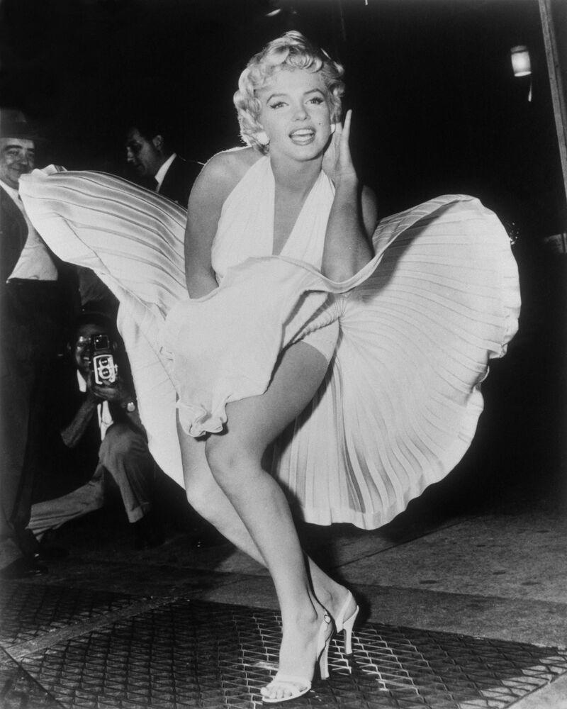 Dokonalý styl a hollywoodský šik: legendární filmové obrazy žen. Marilyn Monroe