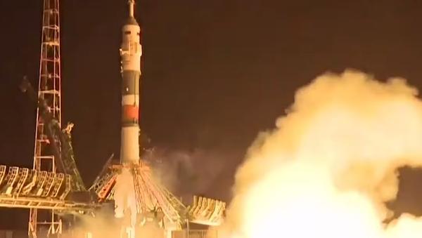 Na Mezinárodní vesmírnou stanici se vydala nová expedice - Sputnik Česká republika