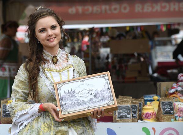 Pestrý festival slovanské kultury v Moskvě - Sputnik Česká republika