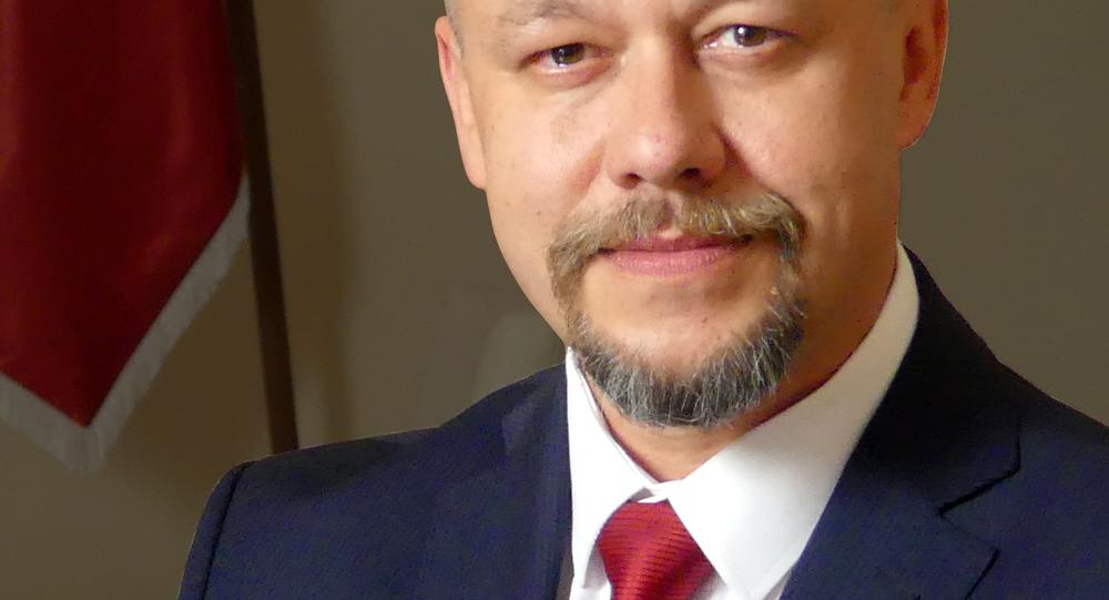 Předseda Strany nezávislosti České republiky František Matějka