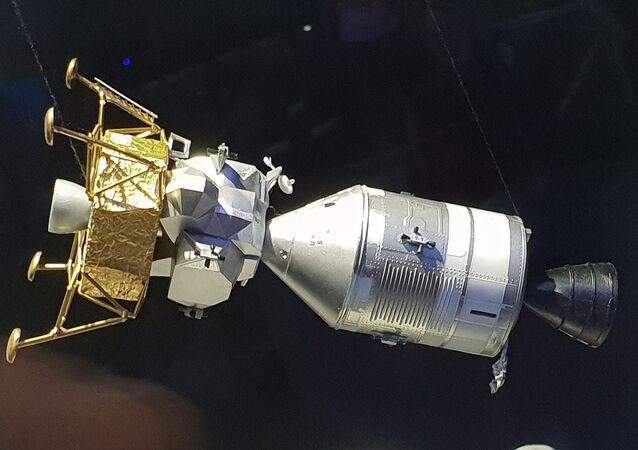 Model Orla před oddělením od Apolla. (Planetárium Praha)